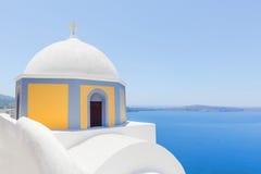 Kirche in Santorini, Griechenland Stockfoto