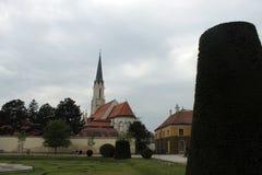 Kirche in Schönbrunner Stockbild