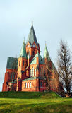 Kirche in Schweden Stockfotos