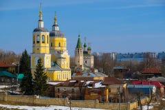 Kirche in Serpuhov Stockfotografie
