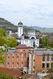 Kirche Sfanta Treime, Sighisoara, Rumänien Stockbild
