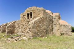 Kirche Sgiovanni Del Sinis lizenzfreies stockbild