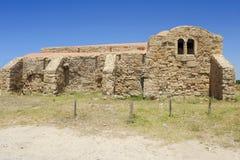 Kirche Sgiovanni Del Sinis stockfoto
