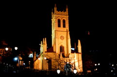 Kirche in Shimla Stockbild