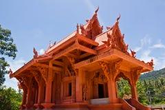 Kirche am sila ngu Tempel Stockbild