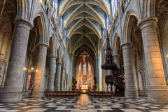Kirche Sint Jacobs Lizenzfreie Stockfotos
