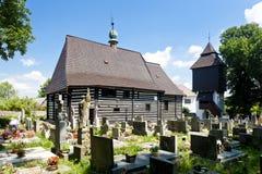 Kirche in Slavonov stockfotografie