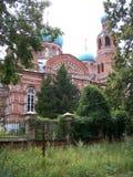 Kirche Smoldeyarovo Stockfotos
