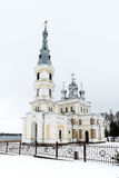 Kirche St. Alexander Nevsky in Stameriena, Lettland Lizenzfreie Stockfotos