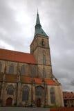 Kirche St. Andreas. Hildesheim Stockfotos