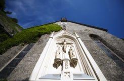 Kirche St. Blasius in Salzburg/in Österreich Stockfotos