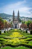 Kirche St. Gualter in Guimaraes, Portugal Lizenzfreies Stockbild