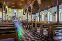 Kirche in St Lucia Stockbild