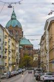 Kirche St Lukas, München, Deutschland Lizenzfreie Stockbilder