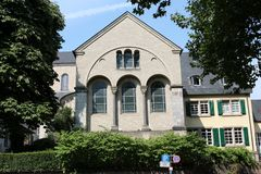 Kirche St. Maria im Kapitol, Köln, Deutschland Stockfotos