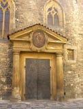 Kirche St Martin in einer Wand Stockfoto