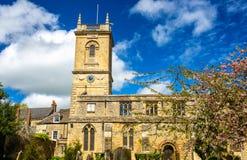Kirche St. Mary Magdalene in Woodstock, Oxfordshire Lizenzfreies Stockfoto