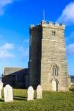 Kirche St. Materianas, Tintagel, Cornwall lizenzfreie stockfotos