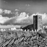 Kirche St. Materianas, Tintagel, Cornwall lizenzfreies stockfoto