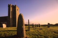 Kirche St. Materianas, Tintagel, Cornwall lizenzfreie stockfotografie