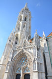 Kirche St. Matthias in Budapest Lizenzfreies Stockbild