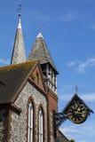 Kirche St. Michael-in-Lewes Stockbilder