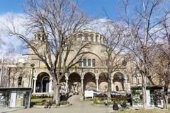 Kirche St. Nedelya in Sofia Lizenzfreie Stockbilder