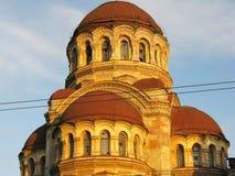 Kirche in St Petersburg Stockbilder