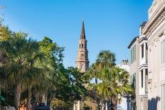 Kirche St. Phillips in Charleston, Sc stockbilder