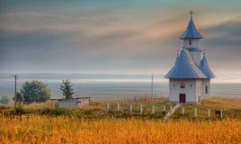 Kirche in Stanca-Dorf Stockfoto