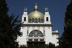 Kirche am Steinhof in Vienna, Austria. Royalty Free Stock Photography