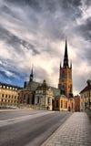 Kirche in Stockholm lizenzfreie stockbilder