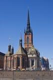 Kirche in Stockholm Stockbilder