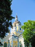 Kirche in Stockholm Stockfotografie