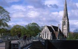 Kirche Str.-Albans Stockfoto