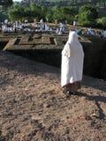 Kirche Str.-George, Lalibela, Äthiopien Stockfotografie