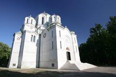 Kirche Str.-George in Serbien Stockbild