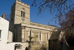 Kirche Str.-Giles, Oxford stockbild