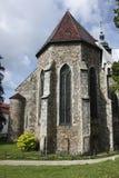 Kirche Str.-James in Jihlava Lizenzfreies Stockbild