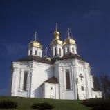 Kirche Str.-Katherinas. Chernigiv, Ukraine Lizenzfreies Stockbild
