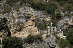 Kirche Str.-Michael, Berati, Albanien Stockbilder