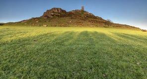 Kirche Str.-Michael, Brentor, Dartmoor lizenzfreies stockfoto