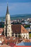 Kirche Str.-Michaels, Klausenburg-Napoca Lizenzfreies Stockfoto