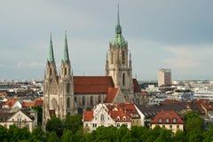 Kirche Str.-Pauls in München lizenzfreies stockfoto