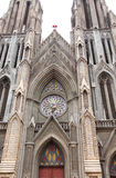 Kirche Str.-Philomenas in Mysore Lizenzfreies Stockbild