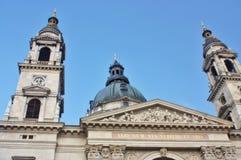 Kirche Str.-Stephens in Budapest stockbilder