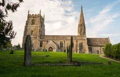 Kirche in Swindon stockbild