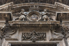 Kirche in Syrakus stockfoto