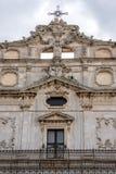 Kirche in Syrakus Stockbild