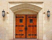 Kirche-Türen lizenzfreie stockfotografie